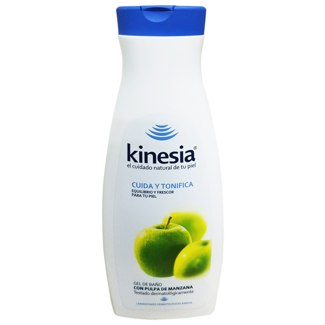KINESIA BATH GEL APPLE 650ml