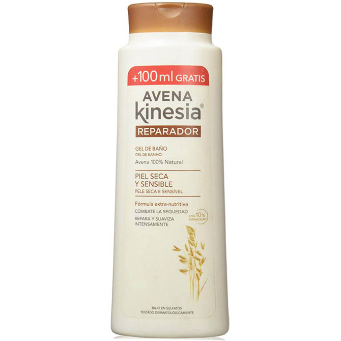 KINESIA BATH GEL OAT 650ml