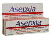 ASEPXIA ACNE CREAM 1 OZ (GENOMMA)