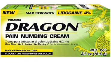 POMADA DRAGON MAX STRENGTH 2 OZ (Genomma)