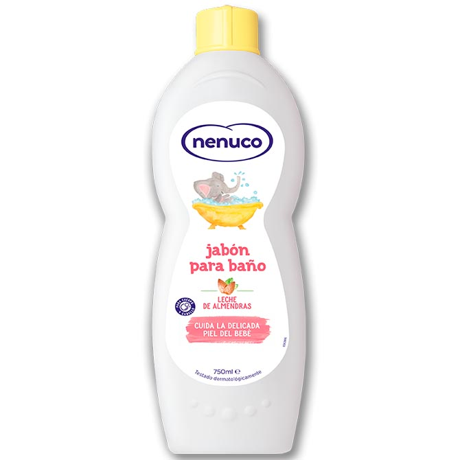 NENUCO BODY WASH SWEET ALMONDS MILK 750ml