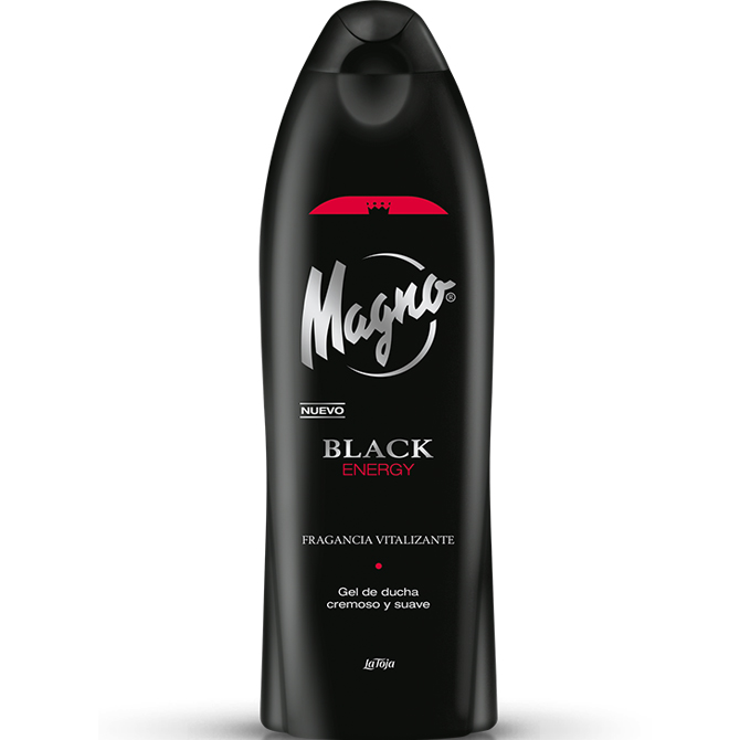 MAGNO GEL BLACK 550 ML